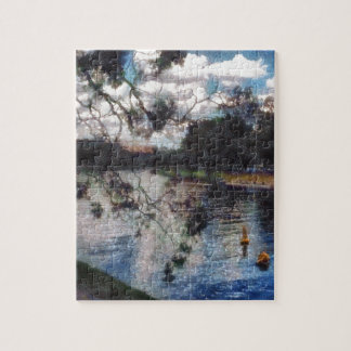 Vision of a river jigsaw puzzle