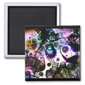Vision of an Infinite Universe in a Finite Mind 2 Inch Square Magnet
