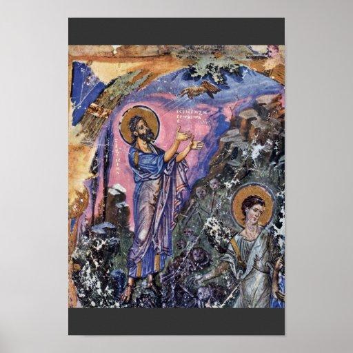 Vision Of Ezekiel (Bibliothèque Nationale De Franc Posters