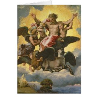 Vision of Ezekiel, c.1518 Greeting Card