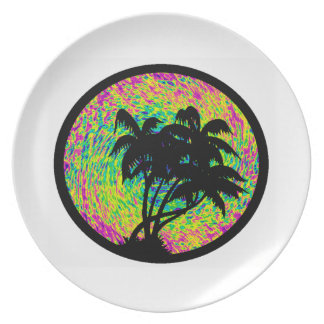 VISION OF PARADISE PARTY PLATES