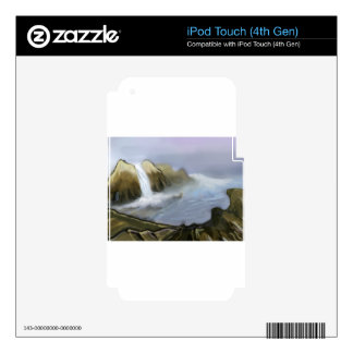 Vision of sea water iPod touch 4G skin