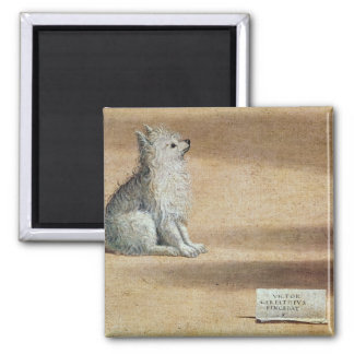 Vision of St. Augustine 2 Inch Square Magnet