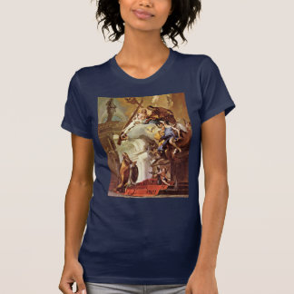 Vision Of St. Clement By Tiepolo Giovanni Battista Tshirts