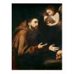 Vision of St. Francis of Assisi Postcards