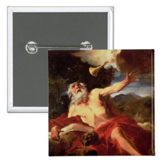 Vision of St. Jerome Button