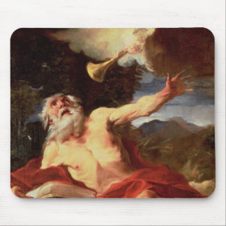 Vision of St. Jerome Mouse Pad