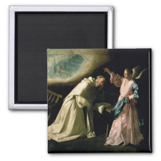 Vision of St. Peter Nolasco, 1629 2 Inch Square Magnet