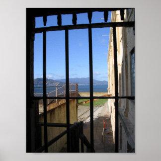 Visión por dentro de Alcatraz Póster