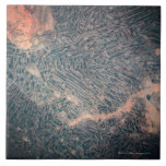 Visión por satélite 2 azulejo cuadrado grande
