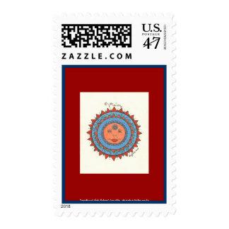 Vision - Postage Stamp (red)