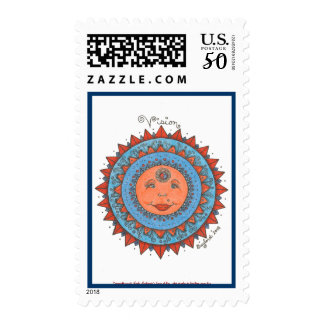 Vision - Postage Stamp (white)