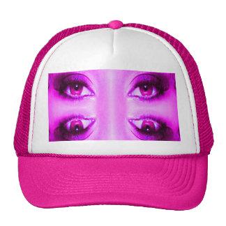 Vision púrpura gorras de camionero