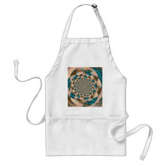 Vision Quest Abstract Design Adult Apron