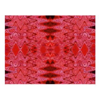vision red postcard