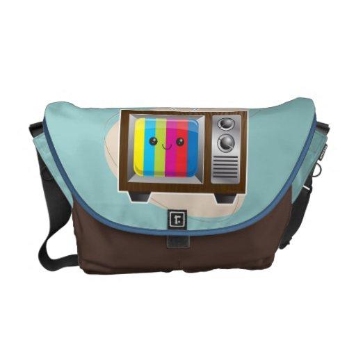 Vision retro bolsas de mensajeria