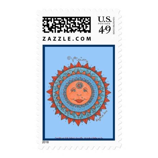 Vision - sello (azul claro)