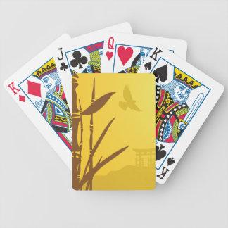 Visión serena barajas de cartas
