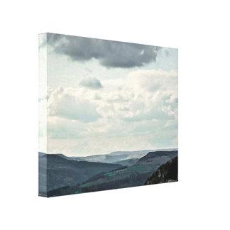 Visión sobre el valle de la esperanza, impresión impresiones en lienzo estiradas