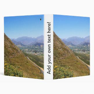"""Visión sobre la ciudad de Franschhoek en Suráfrica Carpeta 1"""""""