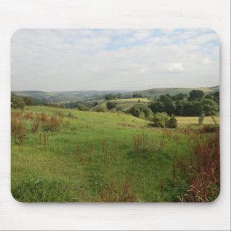 Visión sobre los valles de Derbyshire Alfombrilla De Ratones