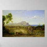 Visión sobre Palermo, 1828 Posters