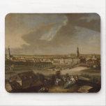 Visión sobre Potsdam de Brauhausberg, 1772 Mousepads