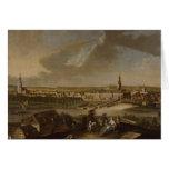 Visión sobre Potsdam de Brauhausberg, 1772 Tarjeta De Felicitación