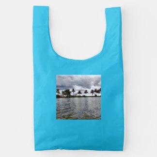 Visión sobre un lago bolsa reutilizable