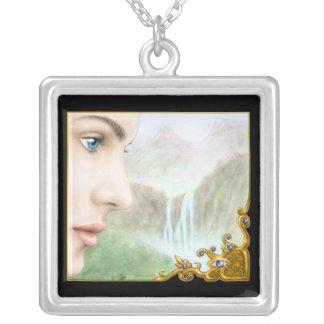 Vision Square Pendant Necklace