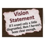 Vision Statement Stationery Note Card