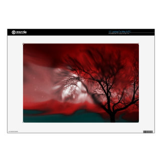 """vision tree red decals for 15"""" laptops"""