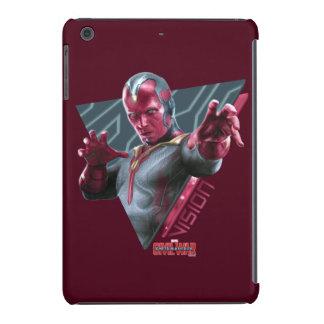 Vision Triangular Character Graphic iPad Mini Cover