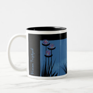 Vision Triptych Two-Tone Coffee Mug