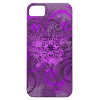 Vision violeta iPhone 5 carcasa