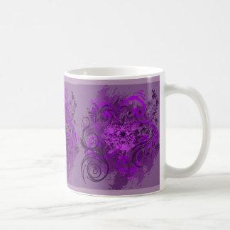 Vision violeta taza clásica