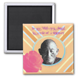 Visionary 2 Inch Square Magnet