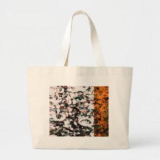 Visionary Abstract Large Tote Bag