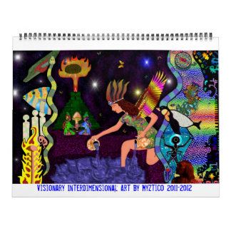 Visionary Interdimensional 2013-2014 Art Calendar