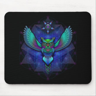 Visionary Owl Mousepad