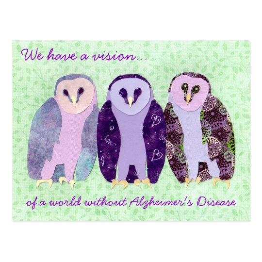 Visionary Owls Postcard