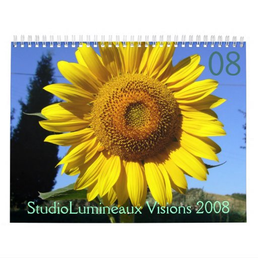Visiones 2008 de StudioLumineaux Calendario De Pared