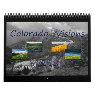 Visiones 2010 de Colorado Calendario