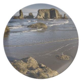 Visiónes costeras, Bandon, Oregon Platos Para Fiestas
