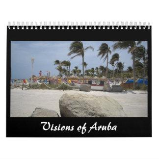 Visiones de Aruba Calendario