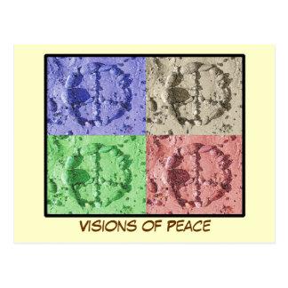 Visiones de la postal de la paz