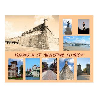 Visiones de St Augustine histórico, la Florida Postal