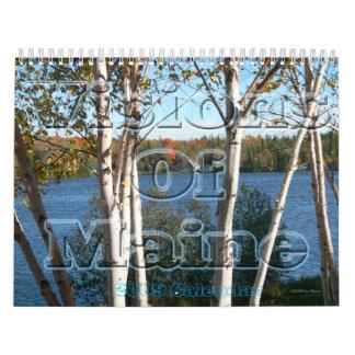 Visiones del calendario de Maine 2009