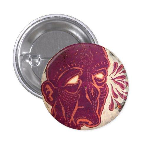 Visiones del Swami Pin Redondo 2,5 Cm