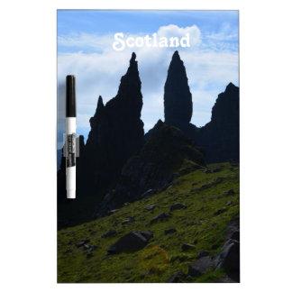 Visiónes magníficas desde la isla de Skye Tablero Blanco